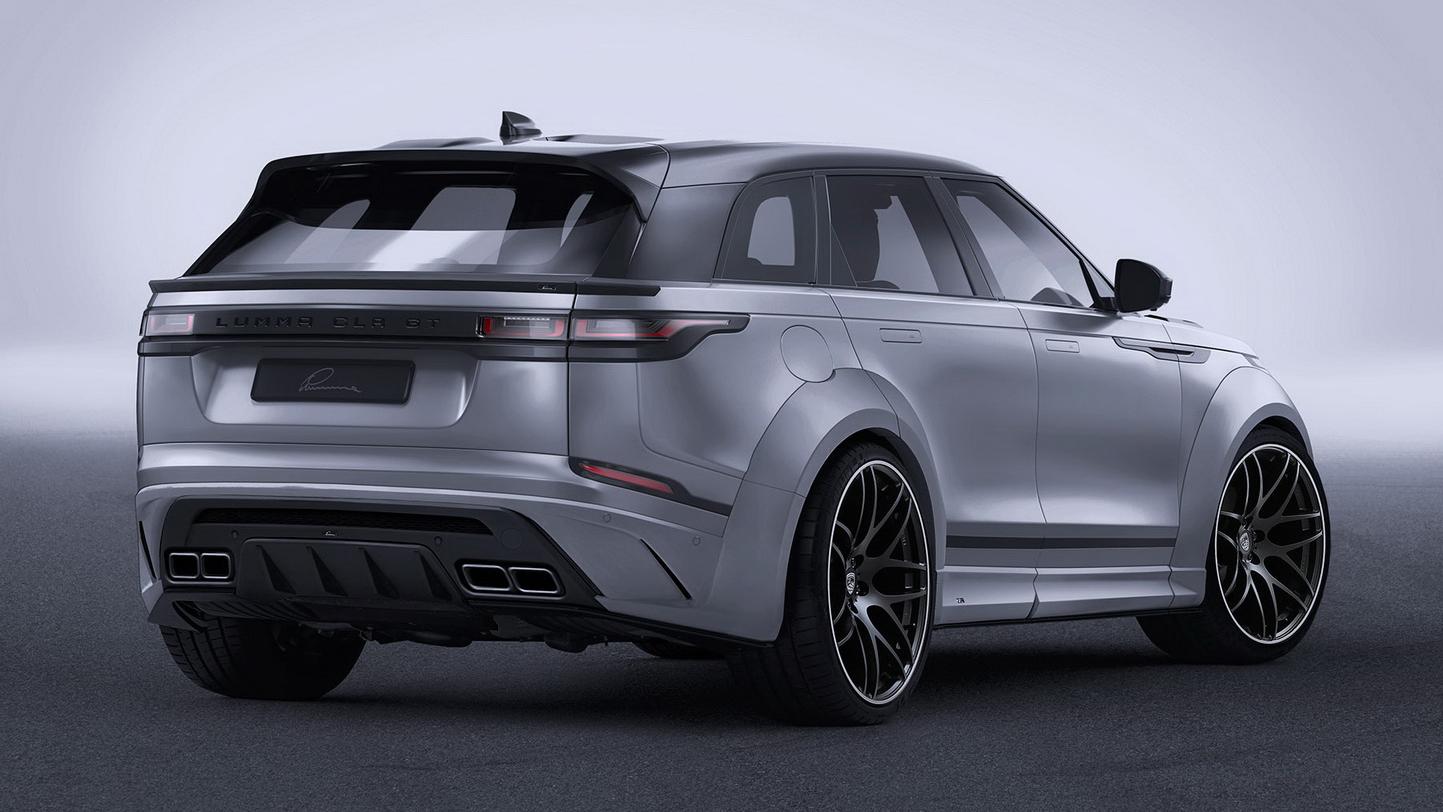 Range Rover Vs Land Rover >> A widebody Range Rover Velar: yay or nay? | Top Gear