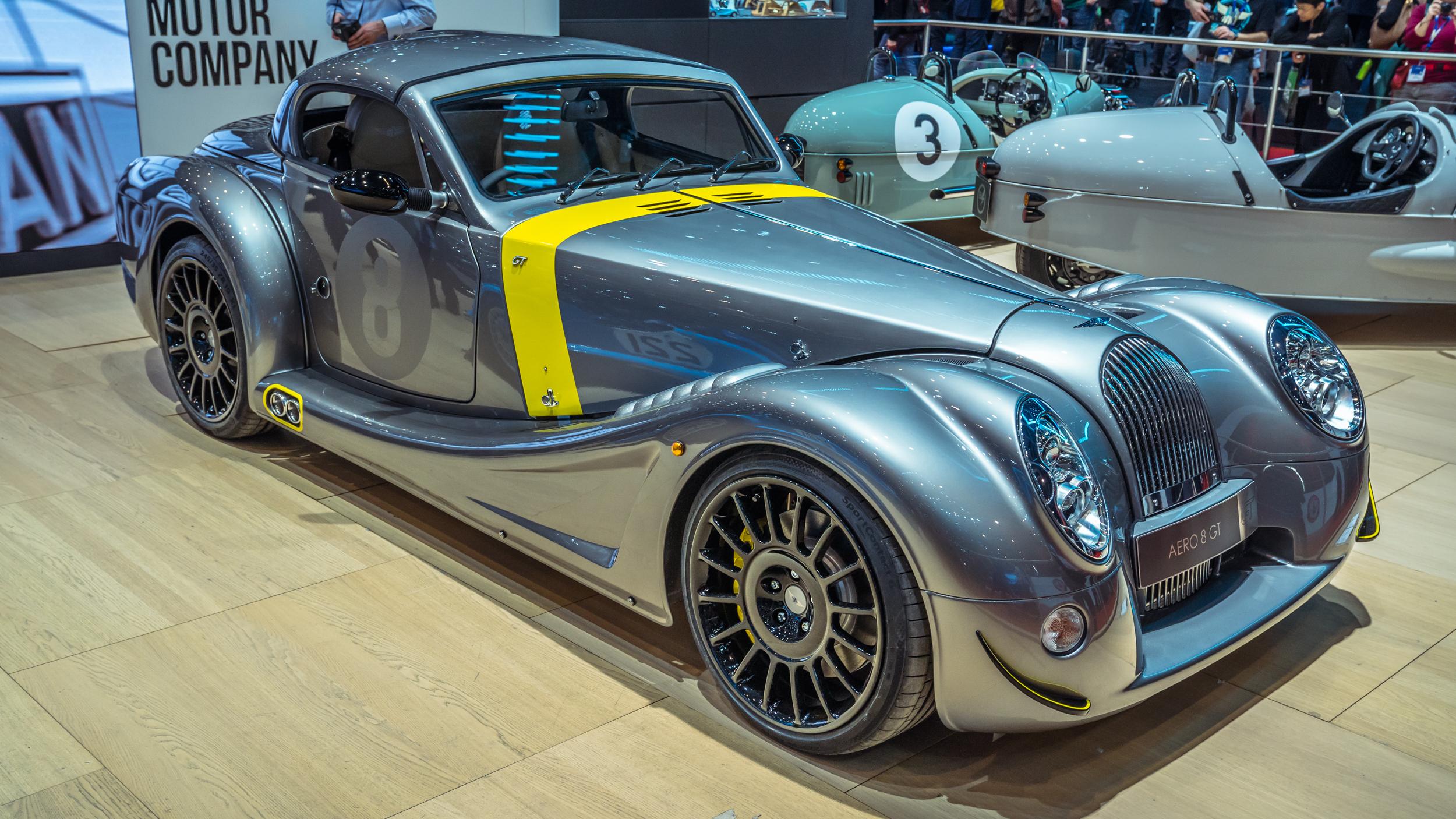 Meet the Aero GT, Morgan\'s new old car for Geneva | Top Gear