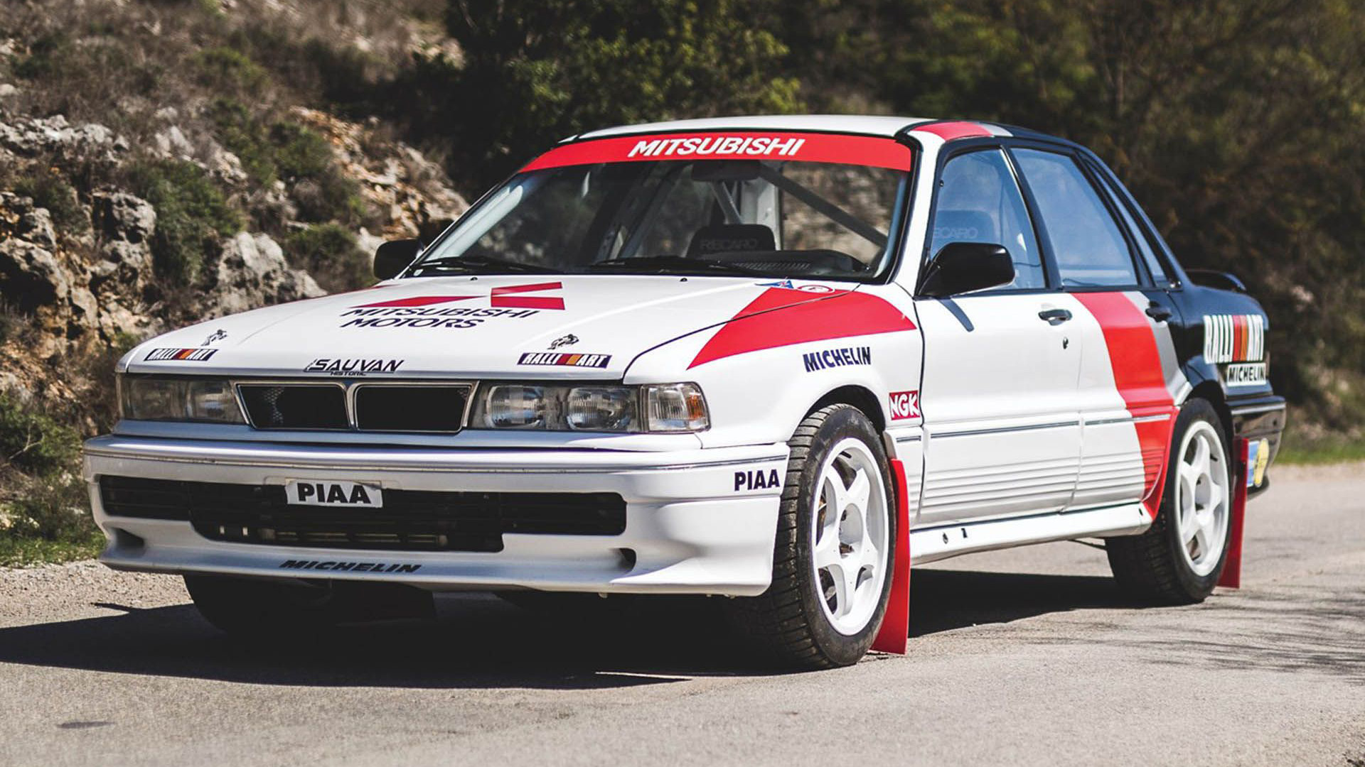 Classified of the week: Mitsubishi Galant VR-4 rally car   Top Gear