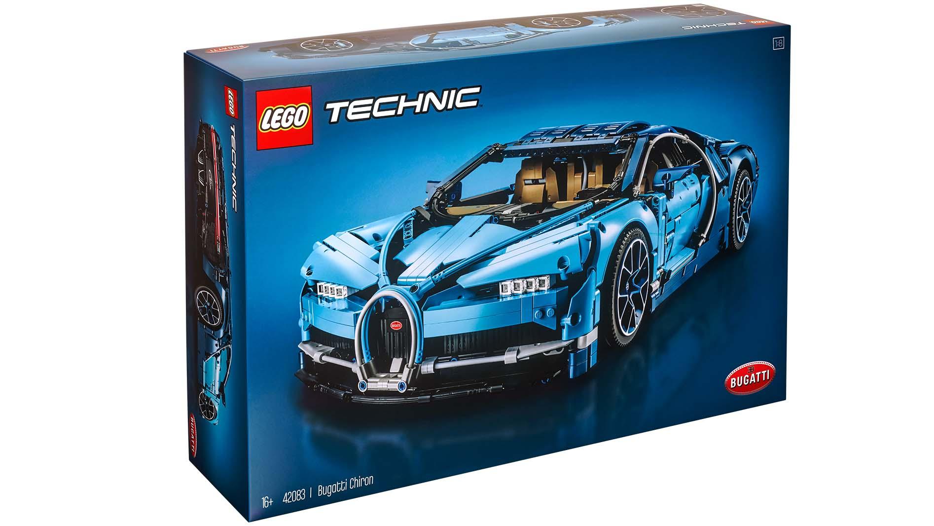 The New Lego Technic Bugatti Chiron Has 3 599 Pieces Top