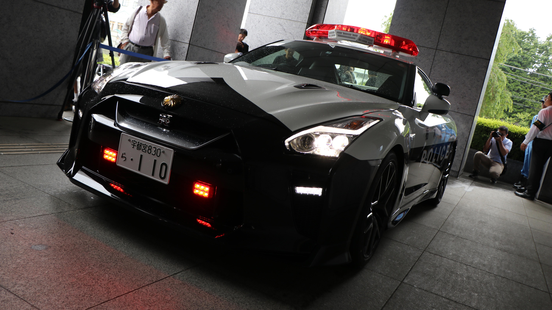 Be afraid of Japan's new Nissan GT-R police car | Top Gear