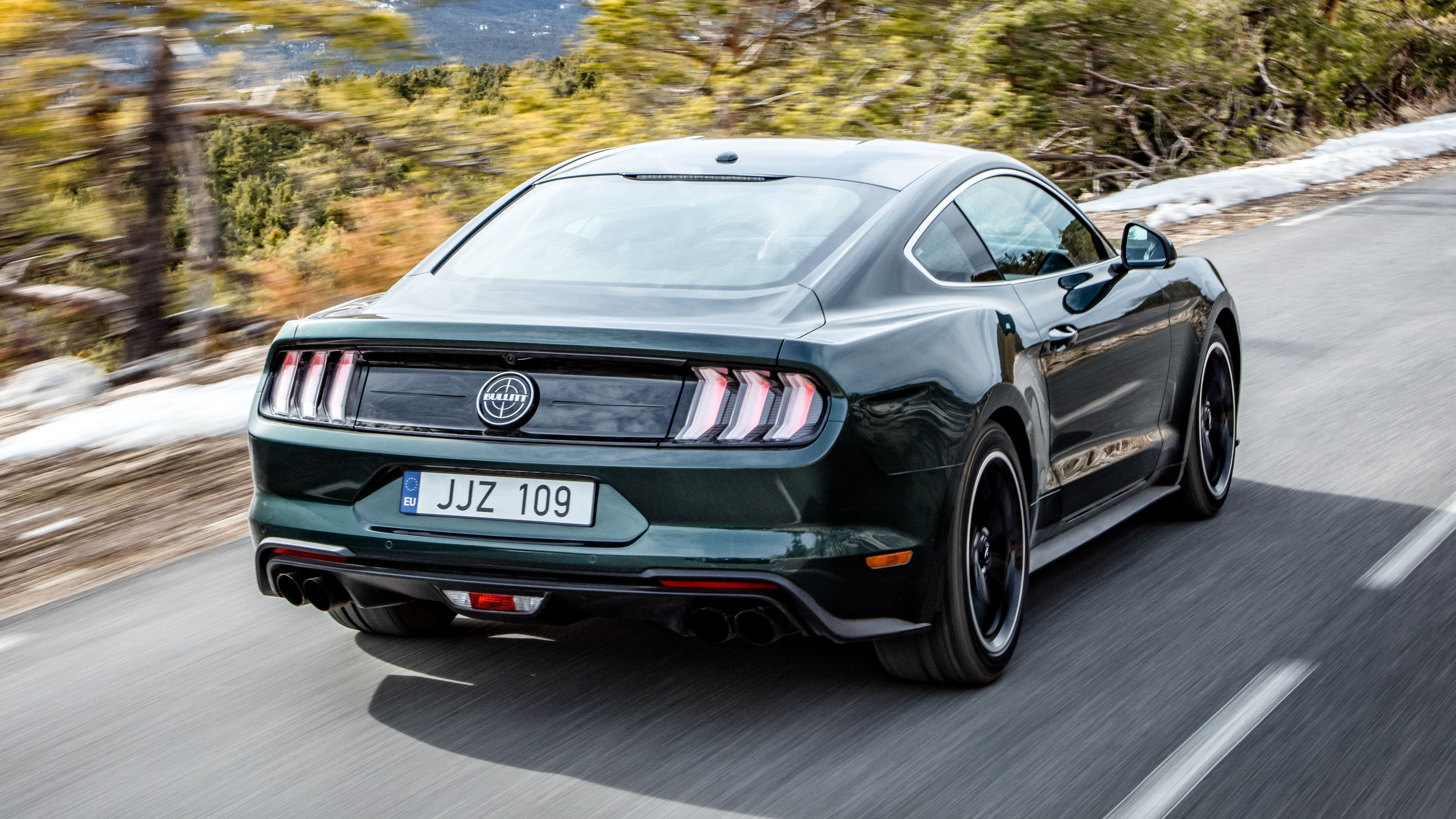 the ford mustang bullitt costs nearly 50k top gear. Black Bedroom Furniture Sets. Home Design Ideas