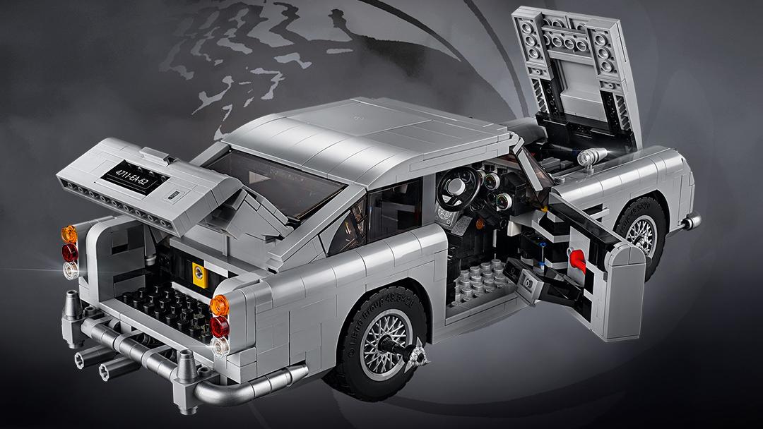aston martin db5 lego bond goldfinger james creator piece gear screen 1290 legos expert advertisement reveal