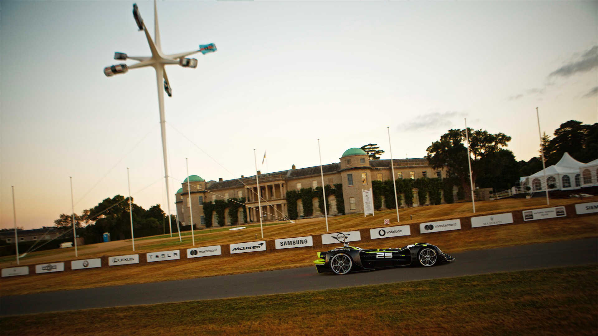 Siemens' autonomous 1965 Mustang will attempt the Goodwood hill climb