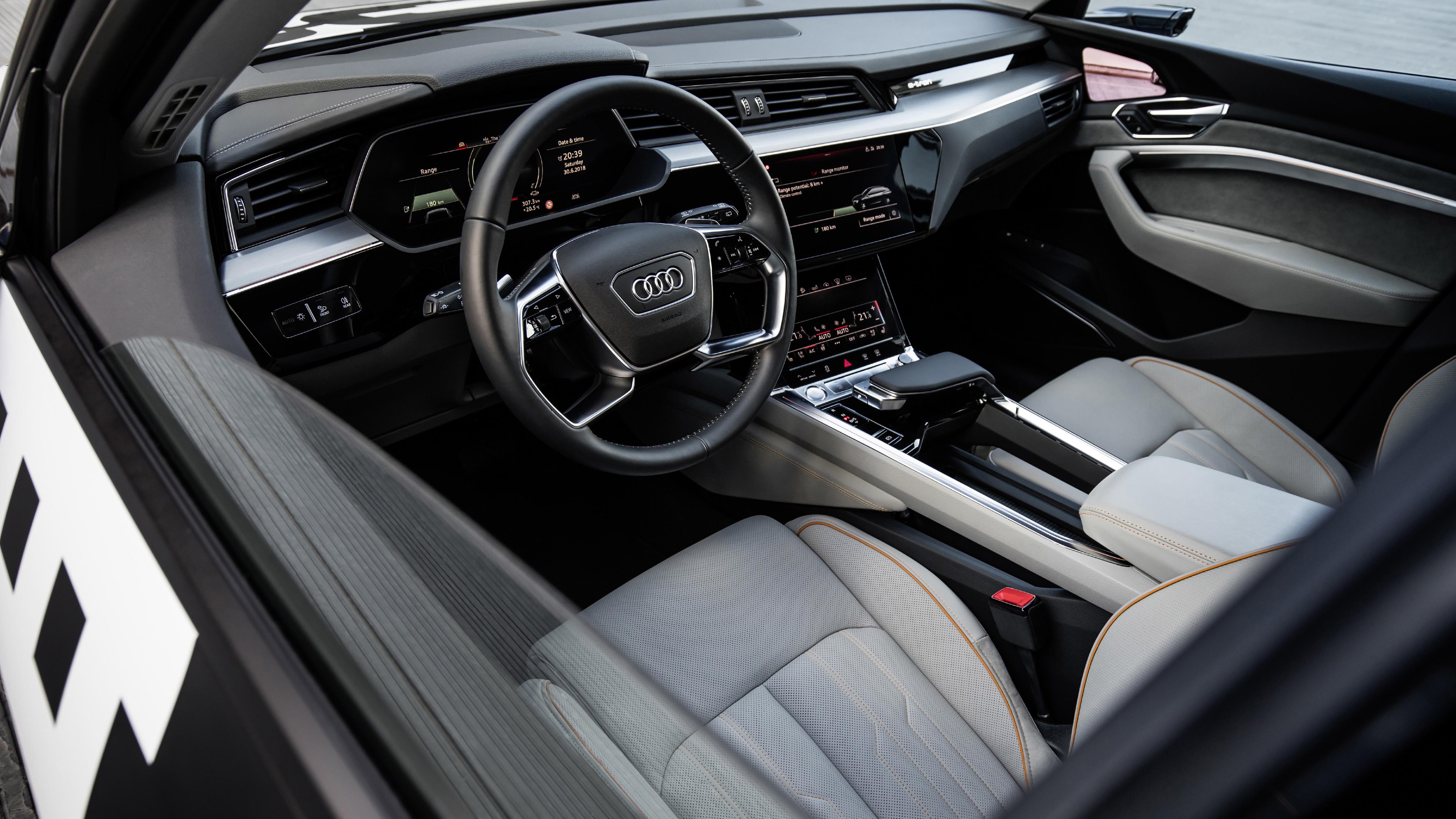 Take a look inside Audi's e-tron electric SUV | Top Gear