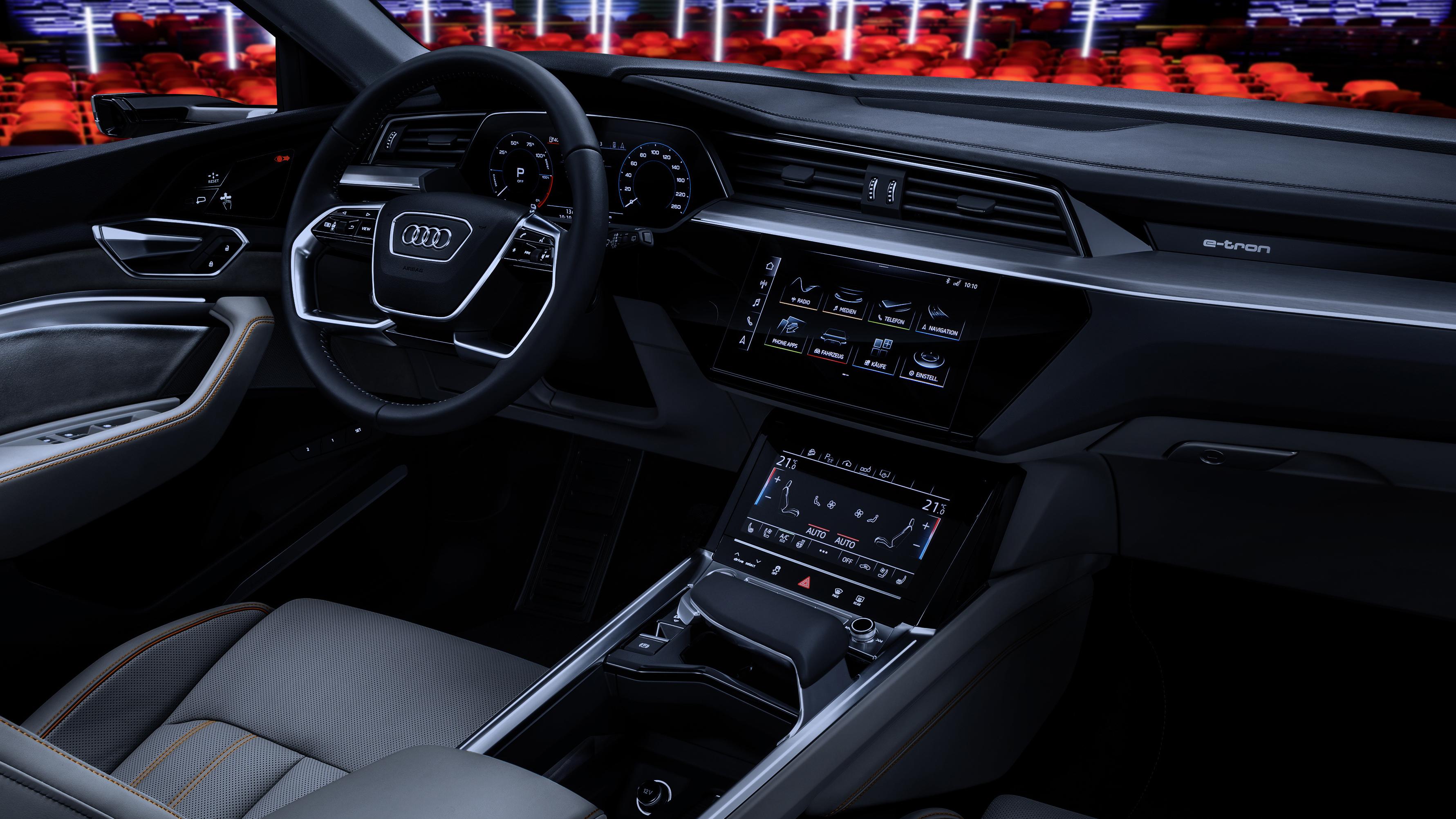 Take A Look Inside Audi S E Tron Electric Suv Top Gear