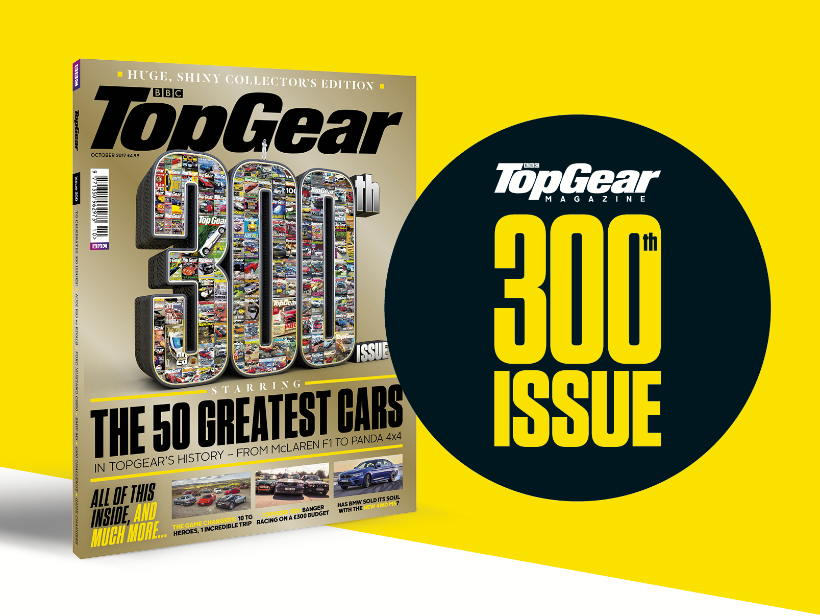 Top Gear Magazine 300th issue