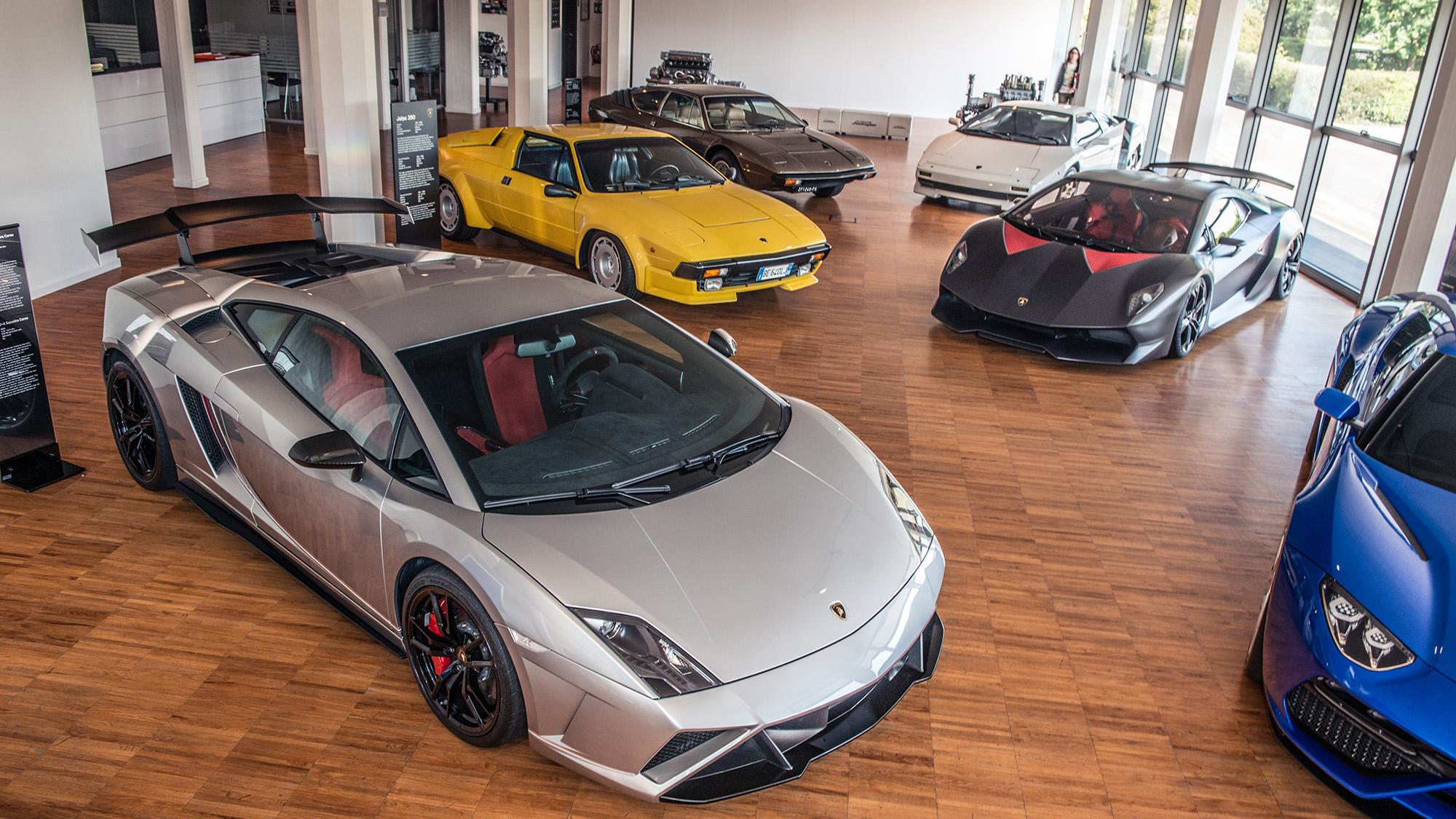 Lamborghini's secret stash of cars