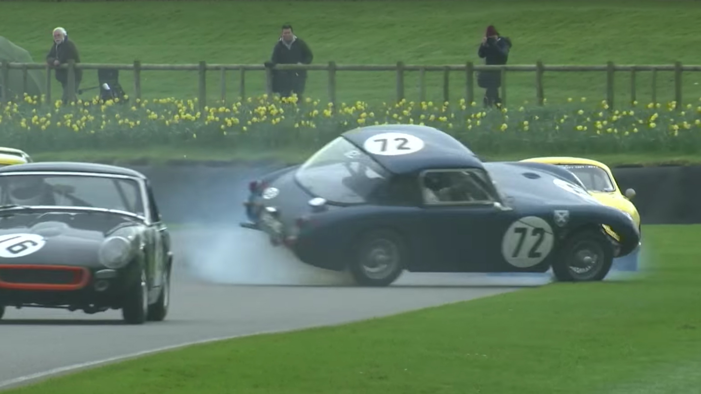 Spins, Slides And Noise: Five Of The Best Vids From Goodwood