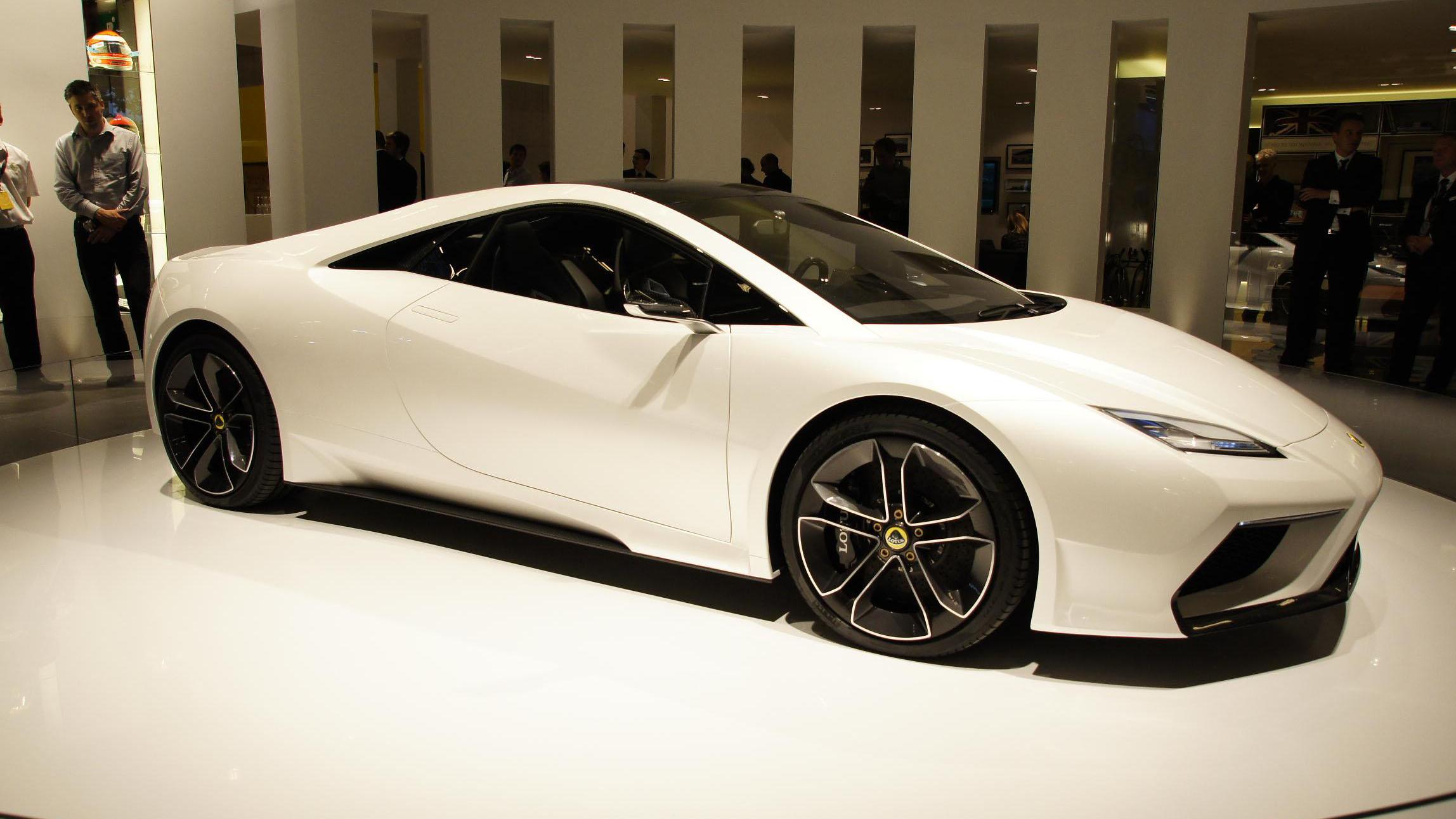 Lotus Esprit V8 concept side