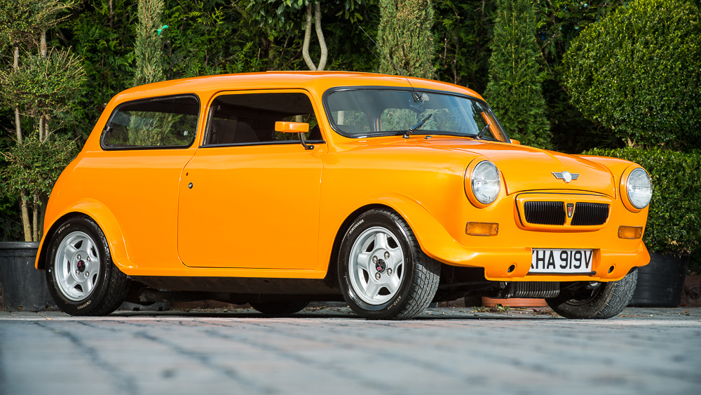 Orange crush classic Mini modified