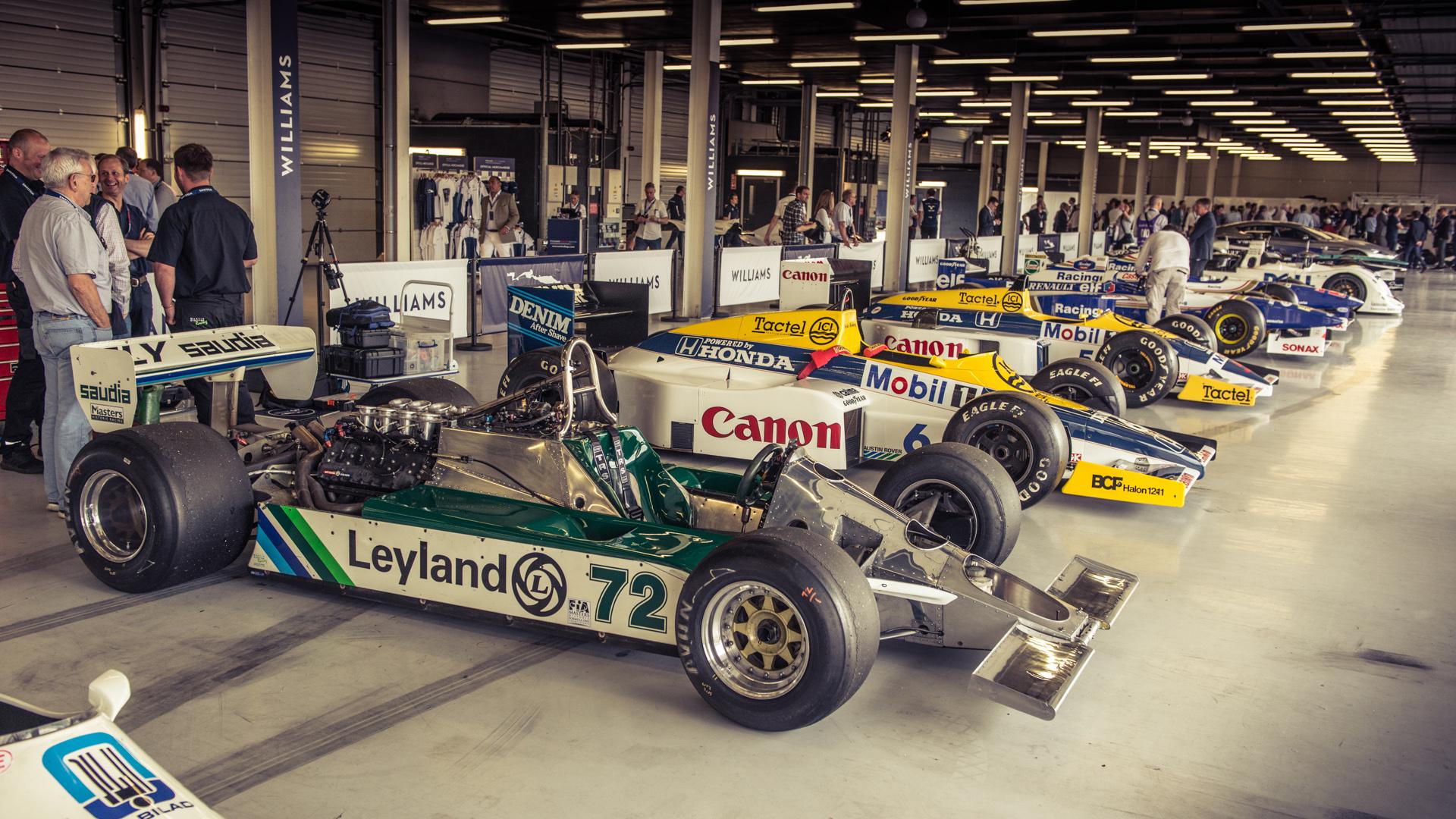 Williams F1 40th birthday bash Silverstone