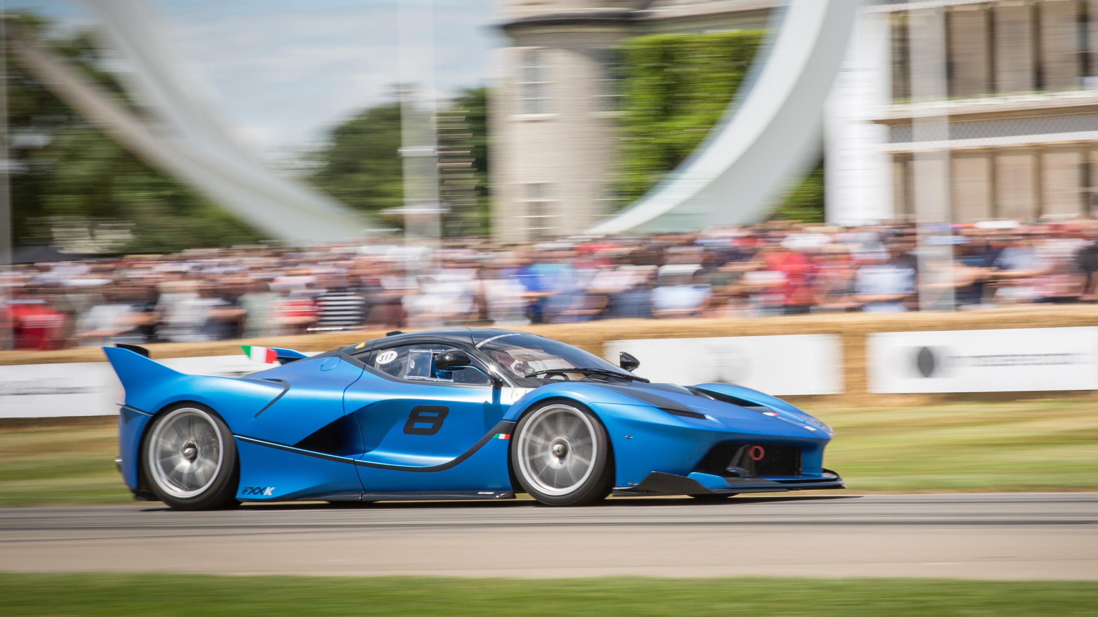 Ferrari at Goodwood Festival of Speed 2017