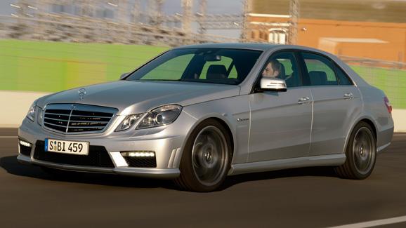 Mercedes E63 AMG news - Hammer time - 2009 | Top Gear