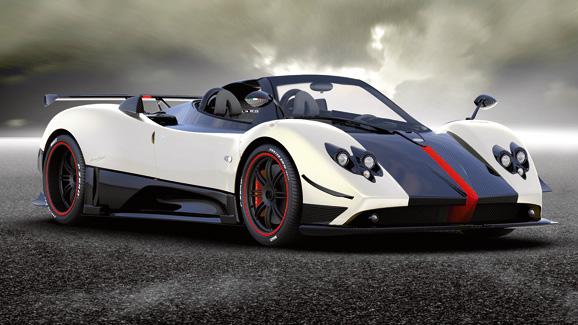 Pagani Zonda Cinque Roadster news - Cinque hole - 2009   Top Gear