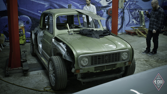 What a 1978 Renault 4 truly needs: 225bhp