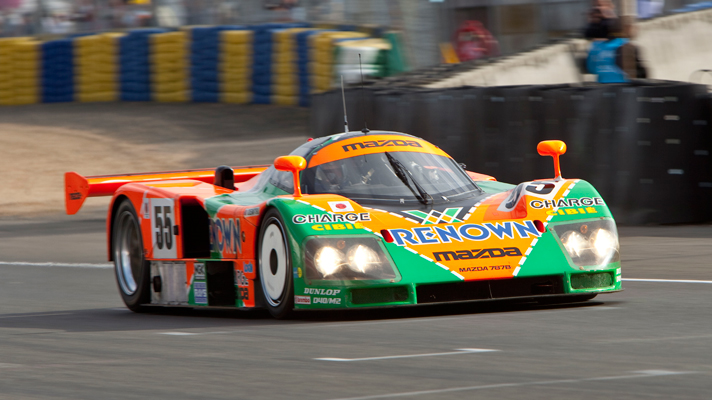 Watch the awesome Mazda 787B in action | Top Gear