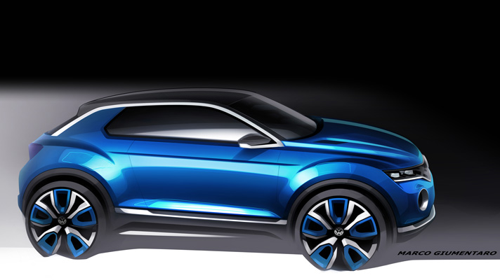 Is VW planning an Evoque rival?