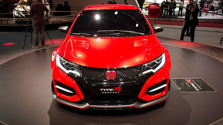 Honda Civic Type R revealed