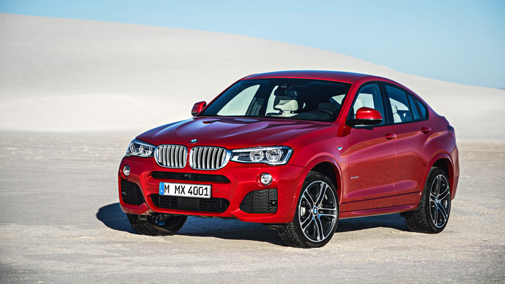 This is the 2015 BMW X4