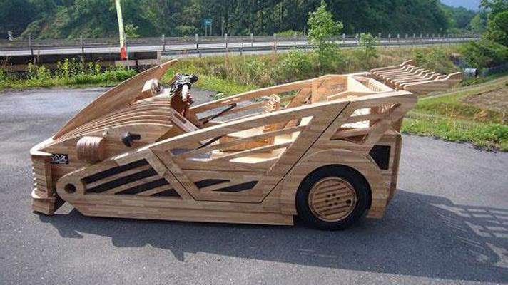 All hail Japan's wooden supercar