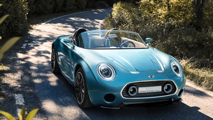 Good God. It's the Mini Superleggera concept
