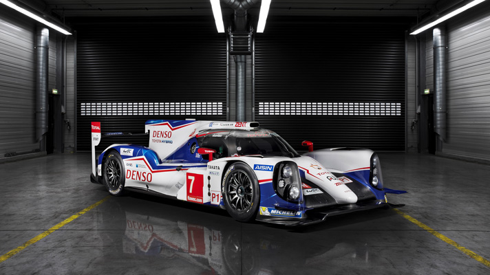 First look: Toyota's new Le Mans Racer