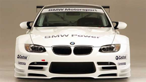 BMW M3 Le Mans racer