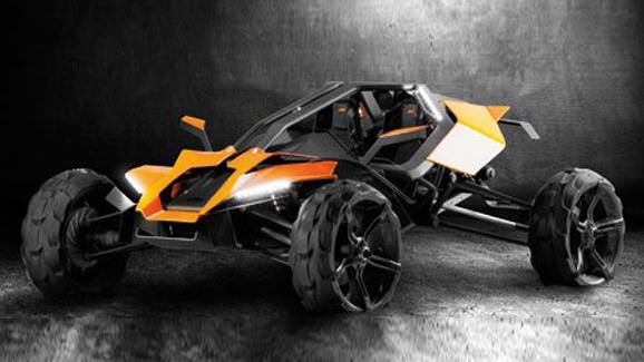 KTM AX off-roader