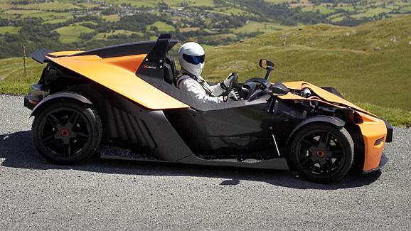 Stig drives the KTM X-Bow