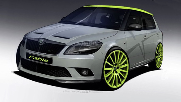 Fabia RS+ concept