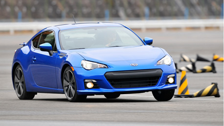 First drive: Subaru's new BRZ coupe