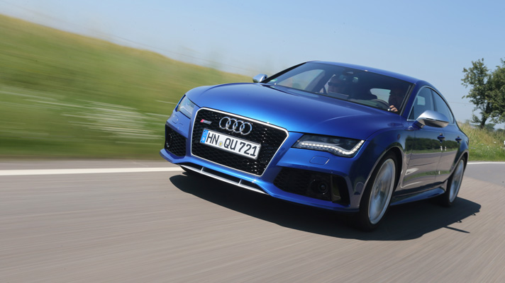 First drive: Audi RS7