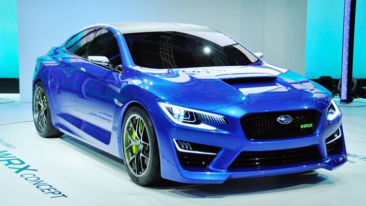 Subaru reveals WRX concept
