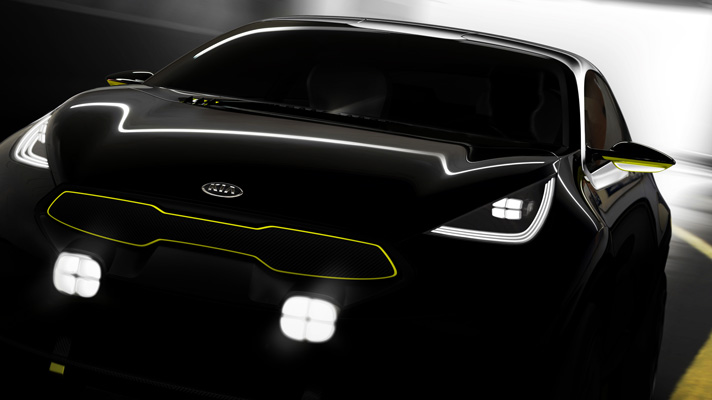 Unnamed Kia concept revealed
