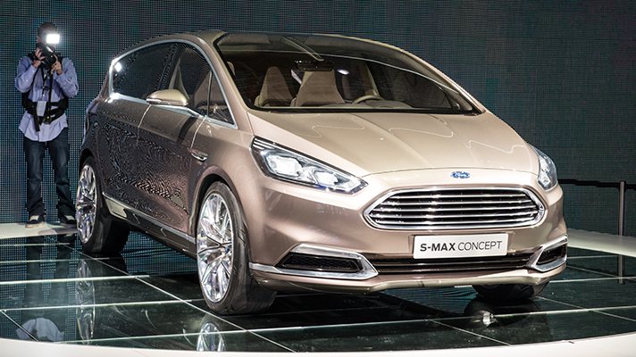 Ford releases new S-Max concept