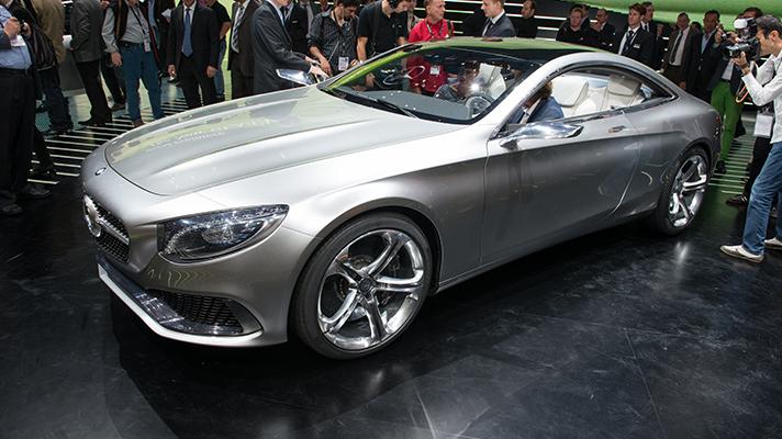 Mercedes reveals S-Class coupe concept
