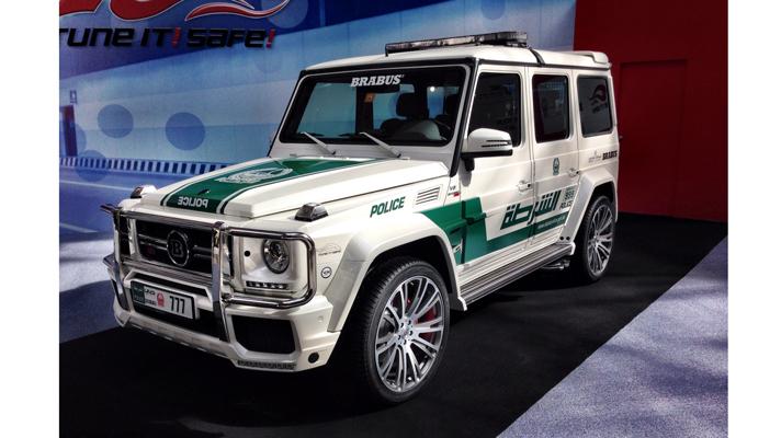 Dubai police get a Brabus G63 AMG