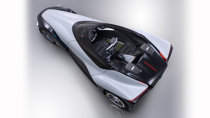 How cool is the Nissan Bladeglider?