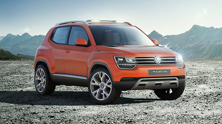 Volkswagen's baby SUV is coming