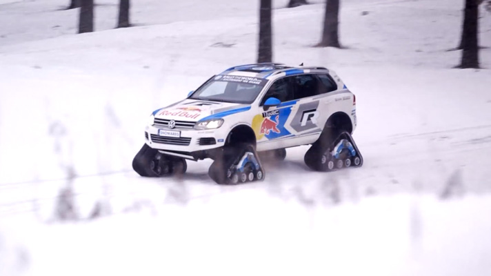 This is the VW Snowareg