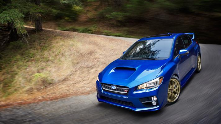 First drive: new Subaru WRX STI