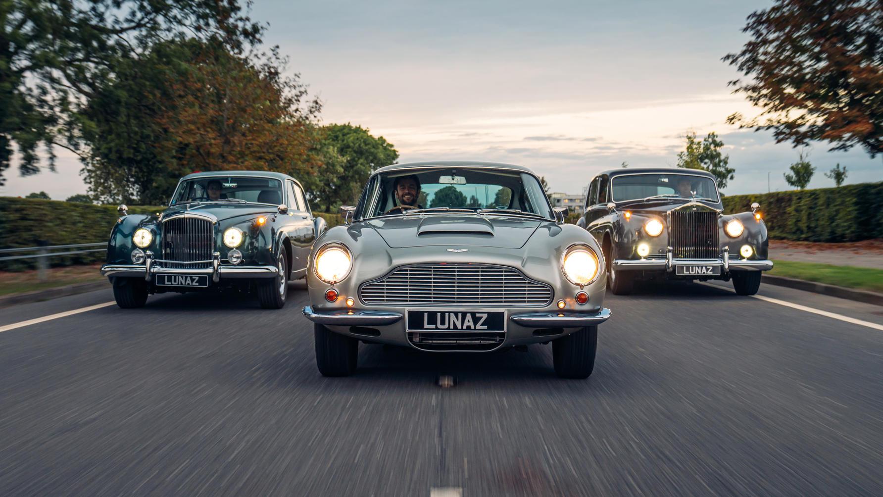 Lunaz electric Aston Martin DB6 Top Gear 2021
