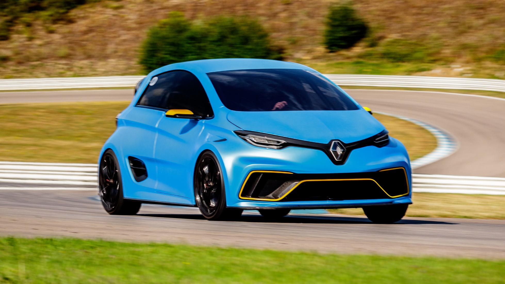 Renault Zoe e-Sport front quarter