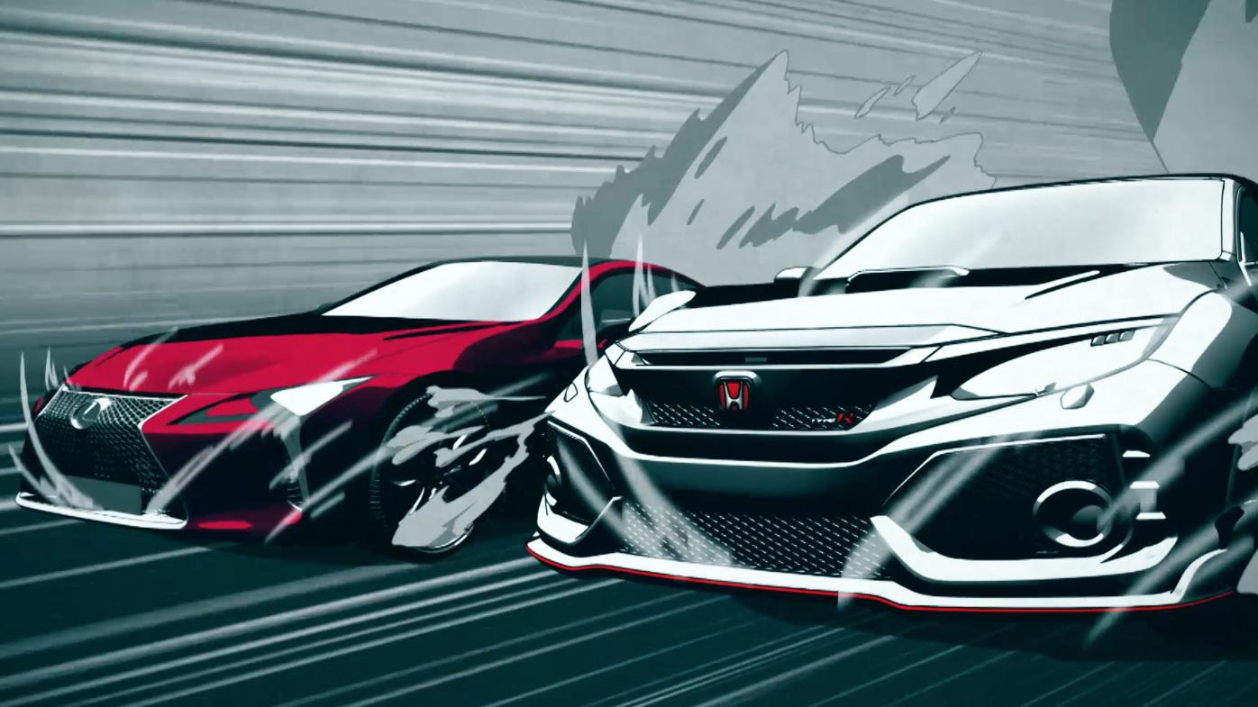 TG TV: Lexus LC500 Vs Honda Civic Type Ru2026 FIGHT!